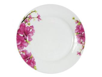Тарелка плоская 18см Сакура