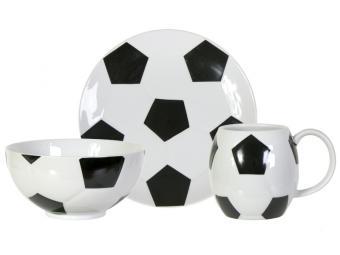 Набор Футбол 3пр (кружка, салатник, тарелка)