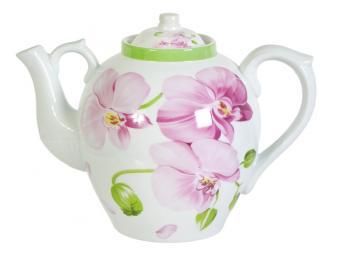 Чайник доливной 2,4л Орхидея