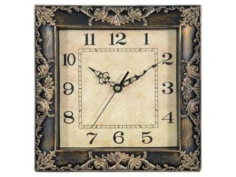 Часы настенные 23,5*23,5*4,1 Квадрат
