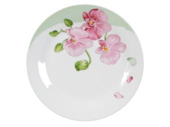 Тарелка Орхидея плоская 18см