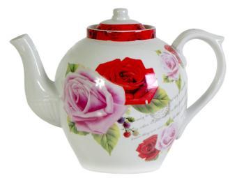 Чайник заварочный 900мл Розы