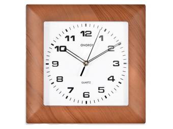 Часы настенные кварцевые ENERGY EC-14 квадратные