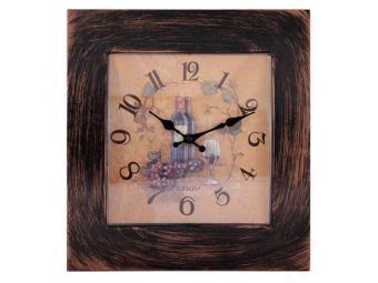 Часы настенные кварцевые квадрат Натюрморт