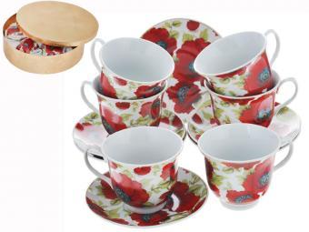 Чайный набор 12 предметов ВК-5976