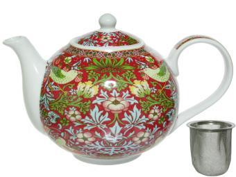 Чайник 1л Strawberry Thief заварочный с ситечком