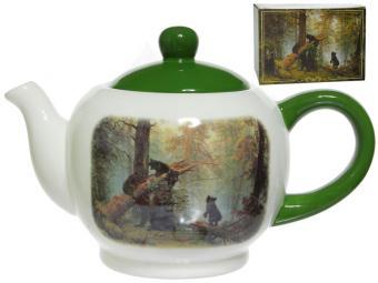 Чайник 1000мл Утро в сосновом бору