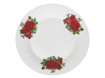 Тарелка Красная магия 18см