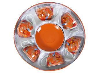 Чайный набор 12пр Апельсин 220мл
