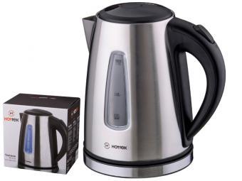 Чайник электрический 1,7л Hottek нержавеющая сталь 2200ВТ 190013