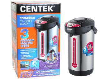 Термопот Centek 1,5л нерж корпус