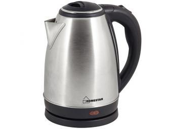 Чайник электрический 1,8л Homestar HS-1010 стальной