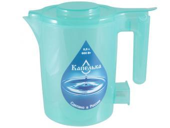 Чайник эл. 0,5л Капелька 600Вт (зеленый)