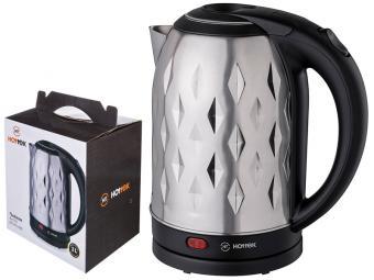 Чайник 2л нерж Hottek 2200вт