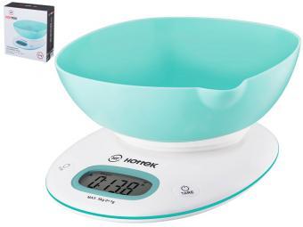 Весы кухонные до 5кг с чашей Hottek HT-962-028
