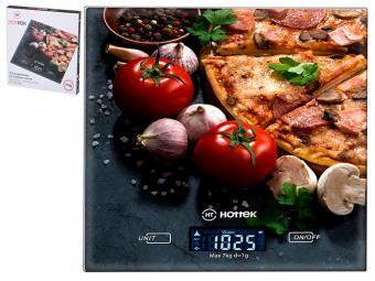 Весы кухонные до 7кг ''Пицца'' Hottek HT-962-025 18*20см