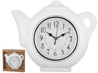 Часы настенные кварцевые ''Chef kitchen'' (цв.белый) 29*5*27см