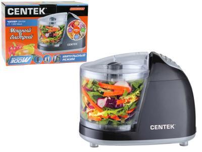 Чоппер Centek (черный) 300Вт, стакан 350мл, импульсный режим работы Centek