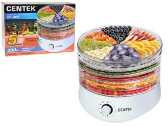 Сушилка для овощей Centek 5 поддонов, 350Вт