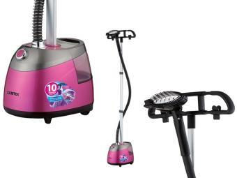 Отпариватель Centek CT-2379 (розовый) 2200Вт, 2.5л большой бак