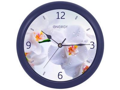 Часы настенные кварцевые ENERGY EC-110 Орхидея Energy