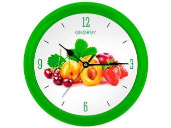 Часы настенные кварцевые ENERGY EC-112 Фрукты