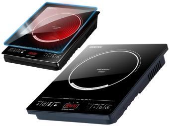 Плитка индукционная Centek 2000Вт 6 программ, сенсор, 10 настроек мощности