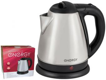 Чайник эл 1,2л ENERGY E-212 дисковый стальной