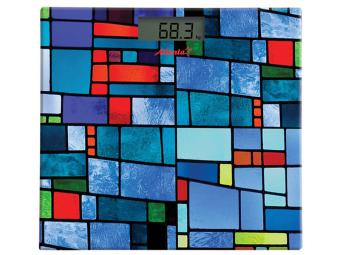 Весы напольные электронные 150кг (blue)