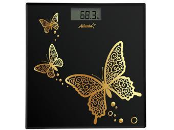 Весы напольные электронные 150кг (black)