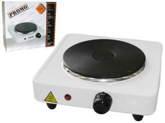 Плитка электрическая 1-комфорка PROMO PR-EC 2251 (белая)