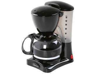 Кофеварка 0,6л 550Вт черная HOMESTAR HS-2021