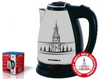 Чайник эл. 2л 2000Вт с термо-рисунком РОС-1004