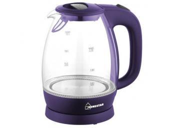 Чайник электрический 1,7л Homestar HS-1012 фиолетовый