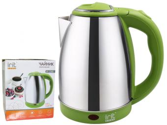 Чайник эл. 1,8л 1500Вт зеленый IR-1348