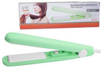 Выпрямитель для волос электрический 20Вт (салатовый)