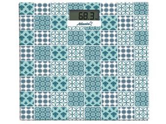 Весы напольные электронные до 150кг ATH-6139 blue