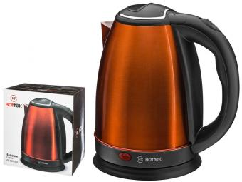 Чайник эл. 1,8л 1800Вт нерж Hottek ht-970-203 (бронзовый)