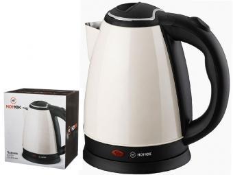 Чайник эл. 1,8л 1800Вт нерж Hottek ht-970-200 (белый)