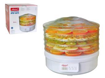 Сушилка для овощей и фруктов 5 поддонов