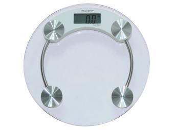 Весы напольные электронные стеклянные круглые