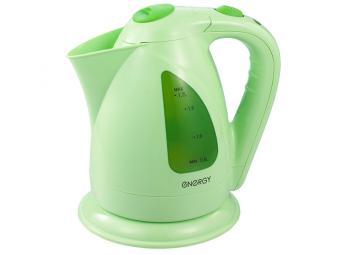 Чайник электрический 1,7л дисковый светло-зеленый ENERGY E-203