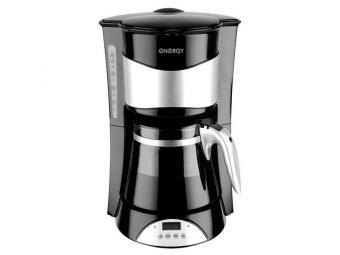 Кофеварка 800Вт 10-12чашек черная ENERGY EN-602