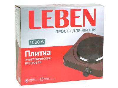 Плитка электрическая 1 конфорка 1000Вт