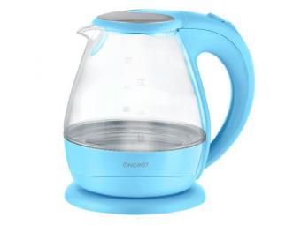 Чайник 1,5л дисковой стеклянный ENERGY E-266