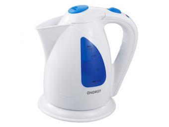 Чайник электрический Energy E-203 1,7л дисковый белый