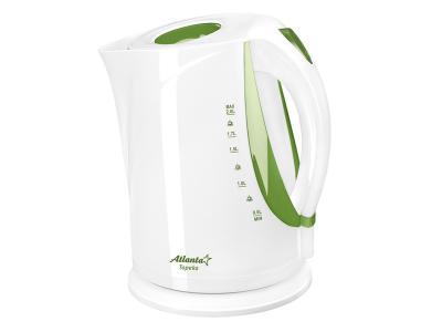 Чайник электрический 2л Topeka зеленый Atlanta