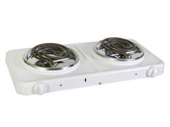 Плита электрическая Пскова 2 конфорки (белая)