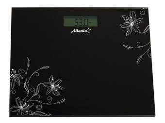 Весы напольные электронные 150кг Черный