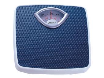Весы напольные механические 130кг Темно-синий